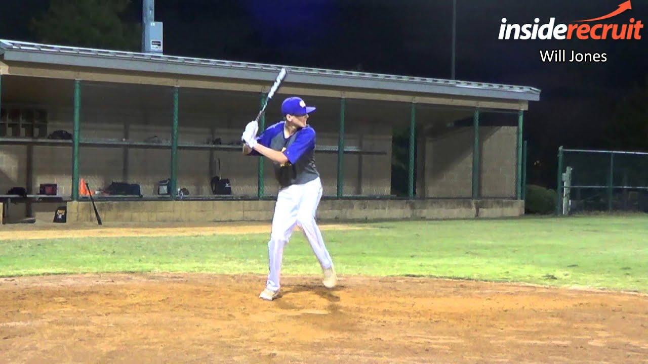 Will Jones - Baseball Recruiting Video - SS/OF - 6'1
