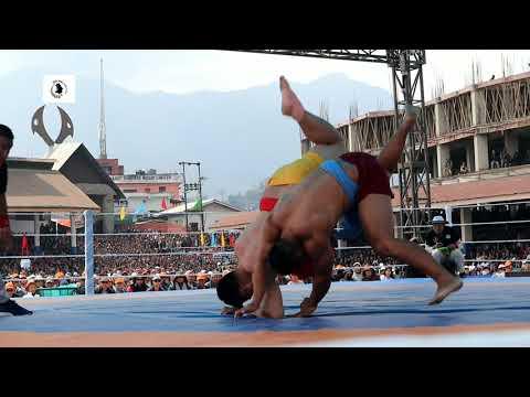 Er. Mhasilhuosie Nagi Vs Vekutho Soho/ Nagaland Wrestling championship 2020