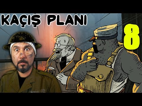 KAÇIŞ PLANI! | VALIANT HEARTS: THE GREAT WAR #8