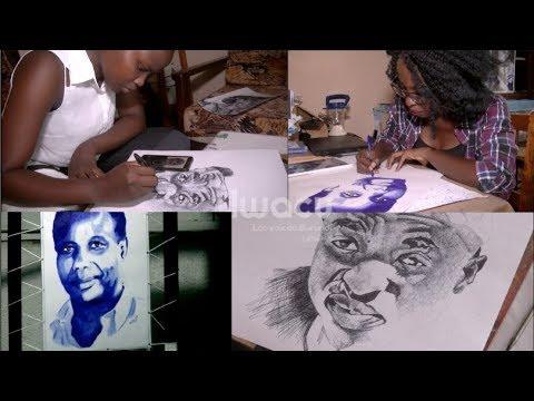 Burundi: L'art du dessin au stylo bic se conjugue au féminin