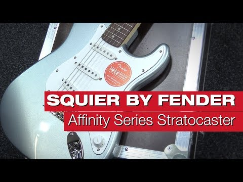 Squier By Fender Affinity Series Stratocaster RW SLS E-Gitarren-Review Von Session