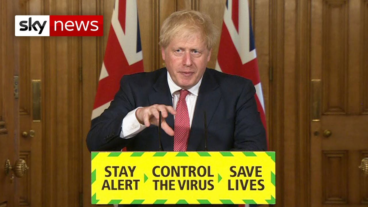 Boris Johnson hopes for Christmas 'normality' in next stages of COVID-19 plan