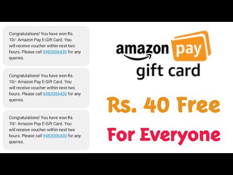 🔥 Amazon Gift Card Loot - ₹40 Free For Everyone Per Number ! Offers Zone