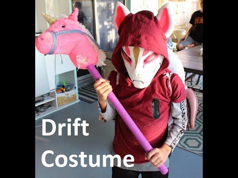 How to make Drift costume 2019 | Fortnite Drift Mask