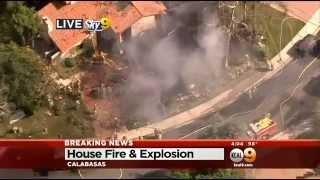 House Fire, Explosion Reported In Calabasas