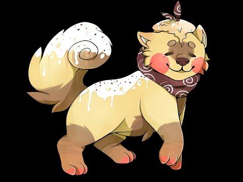Speedpaint #1 - Sushi dog commission