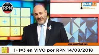 Video Uno mas Uno tres programa completo 14/08/2018 Santiago Cúneo 1+1=3 #CúneoEnVIVO download MP3, 3GP, MP4, WEBM, AVI, FLV Agustus 2018