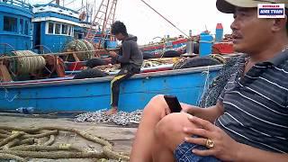 Nói Chuyện Với Những Ngư Dân Quảng Ngãi Đã Từng Ra Hoàng Sa Và Trường Sa Tại Cảng Cá Nghệ An