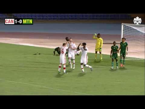 Highlights of Canada's Men's National Team vs Mauritania in a FIFA International Friendly 6 Oct 2016