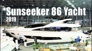 *NEW* Sunseeker 86 Yacht (2019) Walkthrough