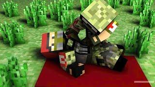 ASKER VS MİNECRAFT #9 Şehidimiz Var! (Minecraft)