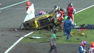最新型フェラーリ458 大破の瞬間 thumbnail