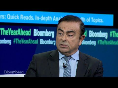 Carlos Ghosn: The Year Ahead in Autos