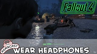 ASMR Gaming - Fallout 4 PC (Binaural 3D & Sound Effects) Exploring Concord #5