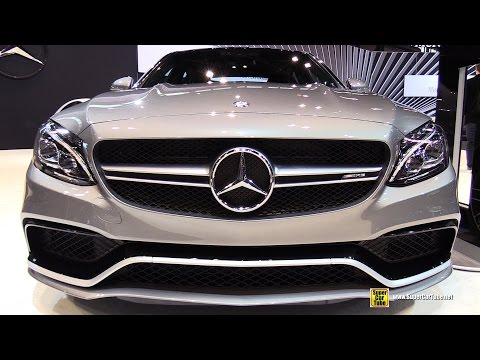 2015 Mercedes Benz C Class C63 AMG S - Exterior and Interior Walkaround - 2015 Chicago Auto Show