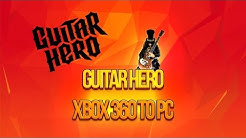 How to Connect Xbox 360 Guitar Hero to PC