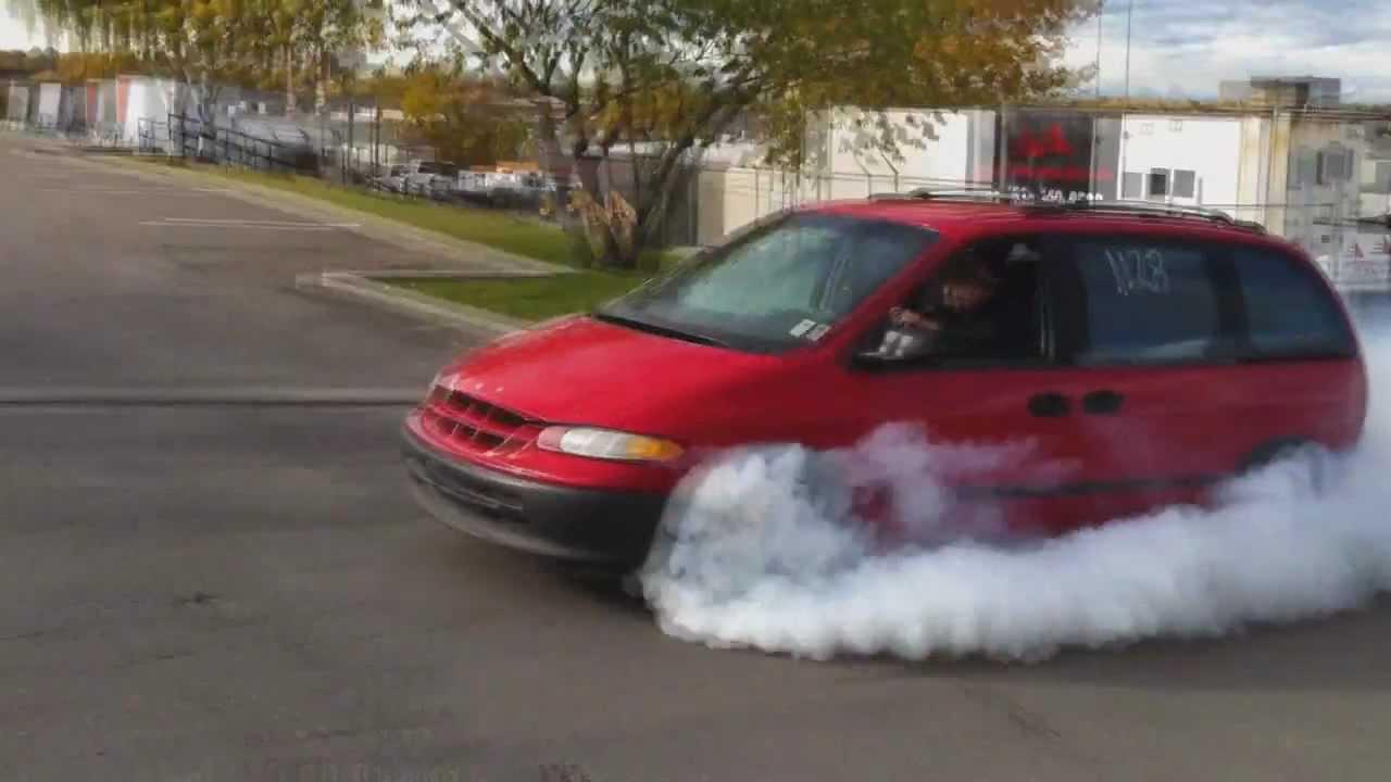 Dodge dodge 1999 caravan : Turbo Dodge Caravan Burnout || CCG - YouTube
