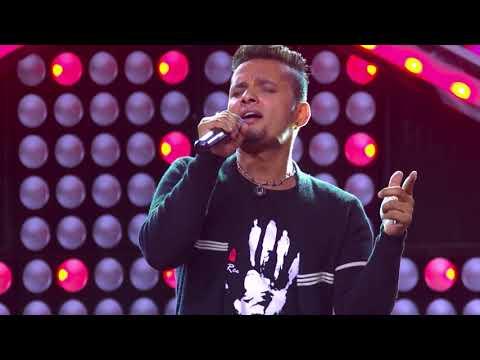 "Rupesh Parajuli - ""K Yo Maya Ho"" - Blind Audition - The Voice of Nepal 2018"