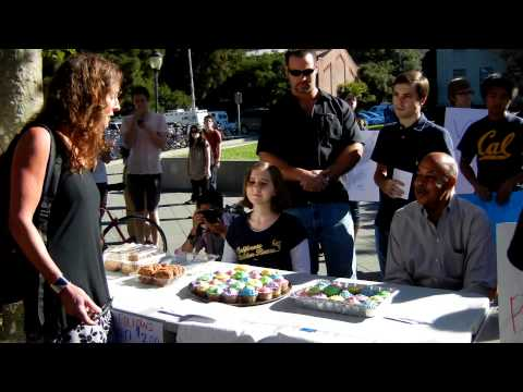 "Berkeley ""Increase Diversity Bake Sale"" 2011 First Customer HD"