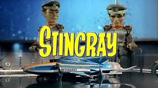 Stingray 1964 - 1965 Opening and Closing Theme (With Snippets) HD DTS Surround