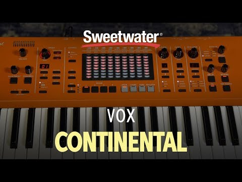 Vox Continental 73-key Performance Keyboard Review