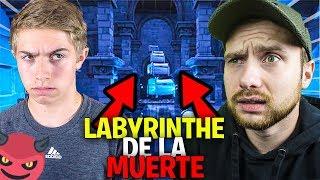 JE DÉFIE MICHOU DANS CE LABYRINTHE DE LA MORT !! Fortnite Créatif