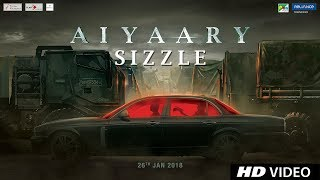 Video Aiyaary Sizzle | Neeraj Pandey | Sidharth Malhotra | Manoj Bajpayee | Releases 26th January 2018 download MP3, 3GP, MP4, WEBM, AVI, FLV November 2017