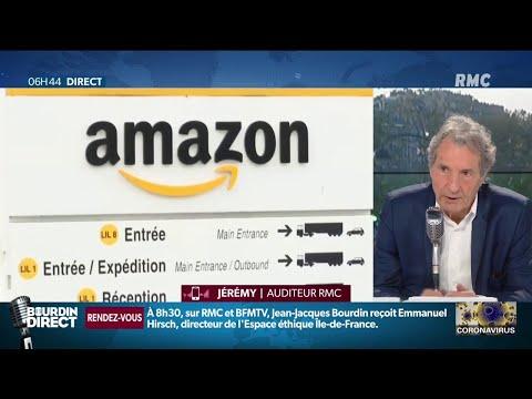 """""""Qu'est ce que ça peut faire qu'Amazon continue vendre?"""" le coup de gueule de Jeremy, auditeur"""