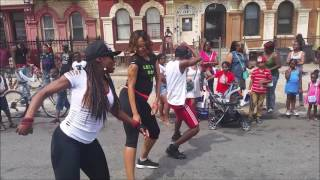 JNT Fitness & Dance -No Apology By Kerwin Du Bois FDNY Block Party Event