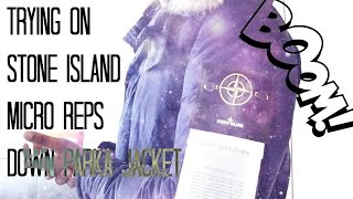 Trying on STONE ISLAND MICRO REPS JACKET AW15| Unboxing & Full Review |Weekly Buys |