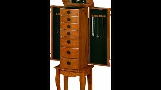 Coaster Traditional Jewelry Armoire