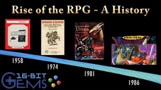 16-Bit Gems - #30: Rise of the RPG - A History