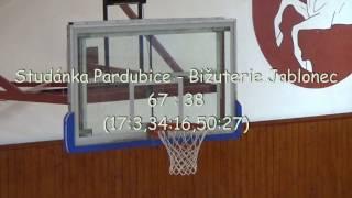 2016 1211 Basket U15 Liga U15 Studánka Pardubice - Bižuterie Jablonec