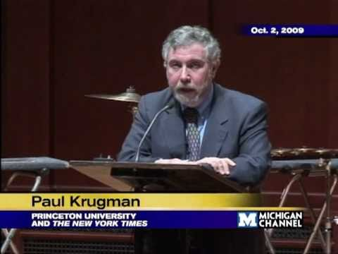 .@fordschool - Paul Krugman: Reflections on Globalization: Yesteryear and Today