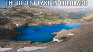 Hiking to the Bluest Lake in Colorado