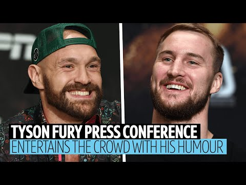 """Full Tyson Fury v Otto Wallin press conference 