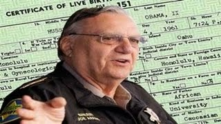 Sheriff Arpaio: Working On Getting Grand Jury Indictment For Obama Birth Certificate Forgery
