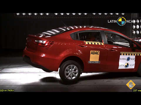 Kia Rio Sedan - NO Airbags