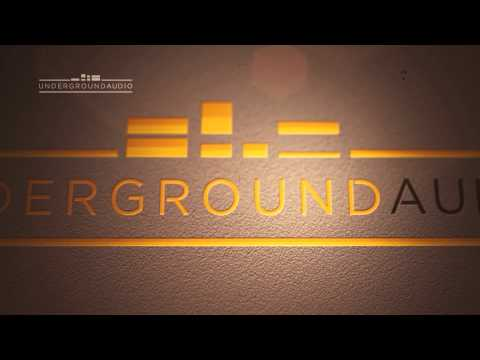 Underground Audio looping music video logo graphics