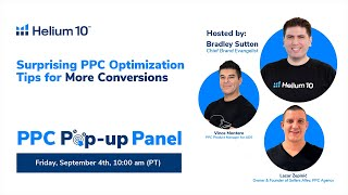 Surprising PPC Optimization Tips For More Conversions with Lazar Žepinić, Sellers Alley   Helium 10
