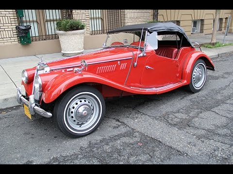 1955 mg tf 1500 for sale charvet classic cars youtube. Black Bedroom Furniture Sets. Home Design Ideas