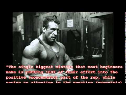 Dorian Yates Motivational Quotes - YouTube