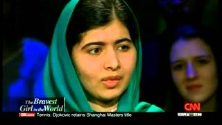 Amanpour with Malala