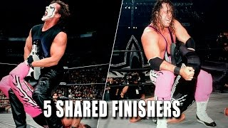5 finishers WWE Superstars shared: 5 Things