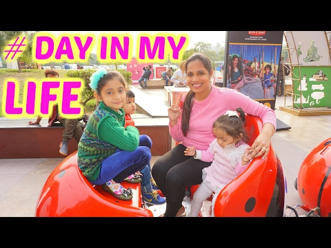 A Day In My Life - Kids Playzone, Shopping Mall, Street Market   ShrutiArjunAnand