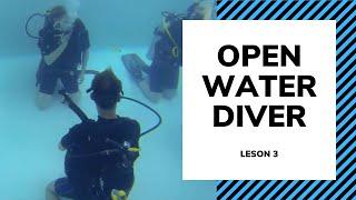 Базовый курс обучения дайвингу - Урок 3 - Open Water Diving OWD
