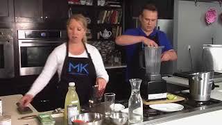 Make a refreshing Watermelon Cooler with Chef Allison Davis