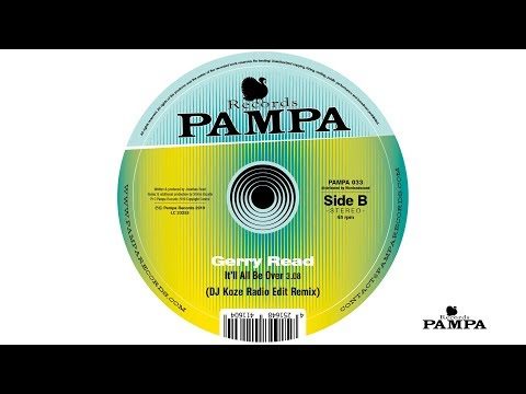 Gerry Read - It'll all be over (DJ Koze Radio Edit Remix) (PAMPA033)