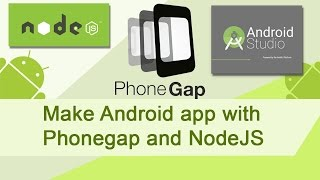 Make an Android app with Phonegap
