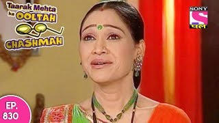 taarak mehta ka ooltah chashmah त रक म हत episode 830 1st november 2017